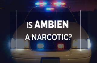 Is Ambien a narcotic?