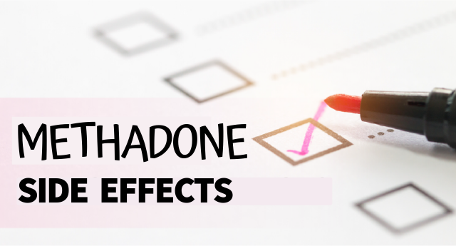 Methadone side effects
