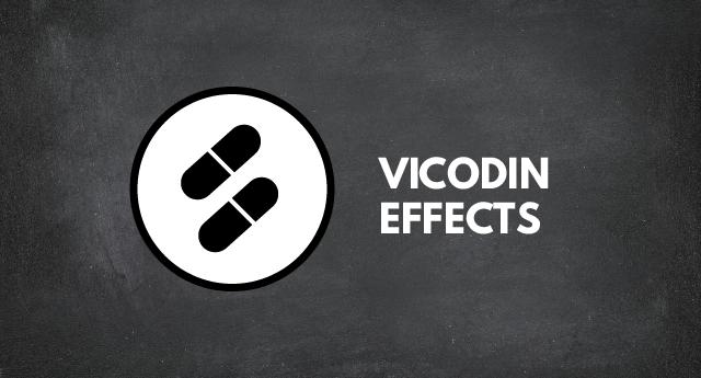 Vicodin adverse effects