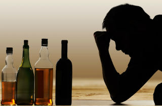 Does punishment stop an alcoholic from drinking?