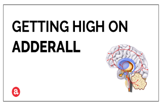 Does Adderall get you high?