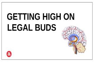 Do legal buds get you high?