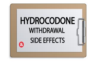 Hydrocodone withdrawal side effects