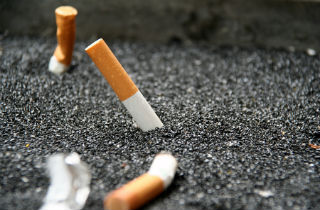 Is nictotine added to cigarettes?