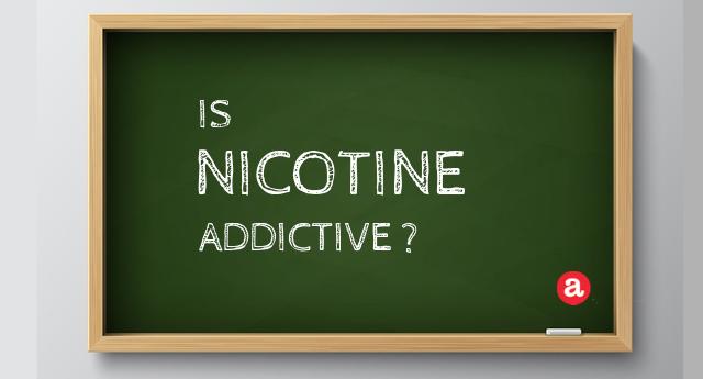 How addictive is nicotine?