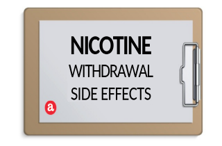 Nicotine withdrawal side effects