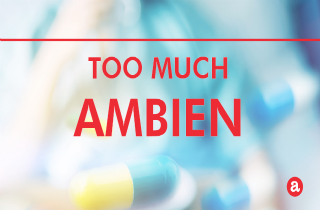 How much Ambien is too much?