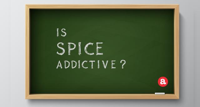 Is Spice addictive?