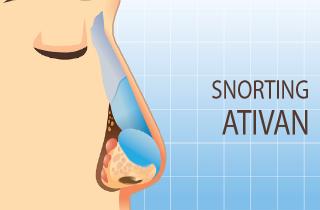 Snorting Ativan