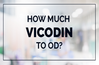 Vicodin overdose: How much amount of Vicodin to OD?
