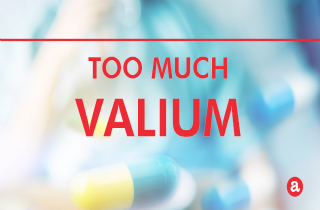 How much Valium is too much?