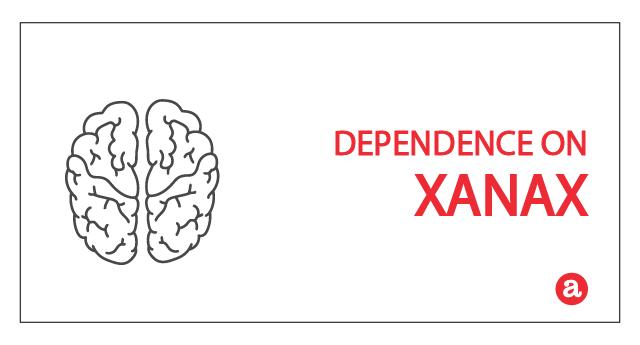 Dependence on Xanax