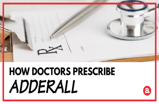 How is Adderall prescribed?