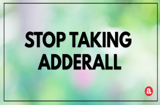 How to Stop Taking Adderall