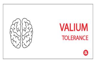 Tolerance to Valium
