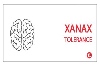 Tolerance to Xanax