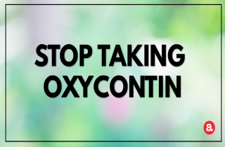 How to Stop Taking OxyContin