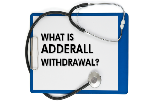 What is Adderall withdrawal?