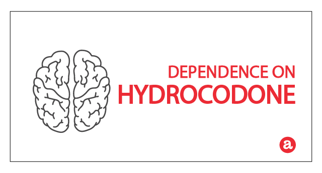 Dependence on hydrocodone