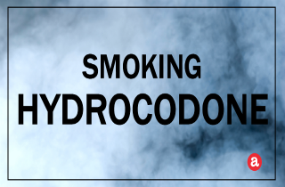Smoking hydrocodone