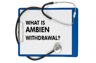 What is Ambien withdrawal?
