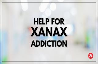 Help for Xanax addiction