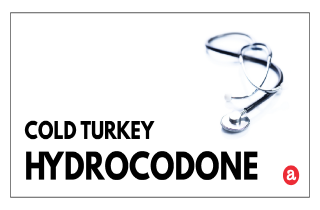Cold turkey hydrocodone
