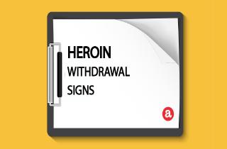 Heroin withdrawal signs