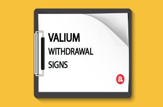 Valium withdrawal signs