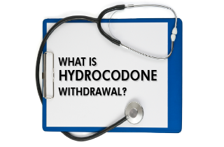 What is hydrocodone withdrawal?