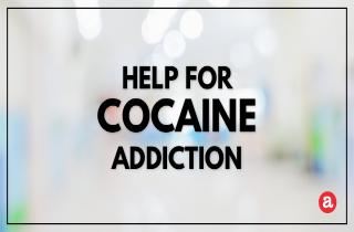 Help for cocaine addiction