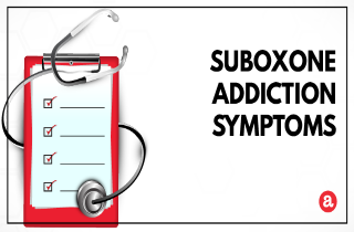 Signs and symptoms of Suboxone addiction