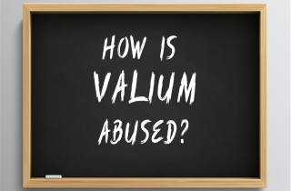 How is Valium abused?