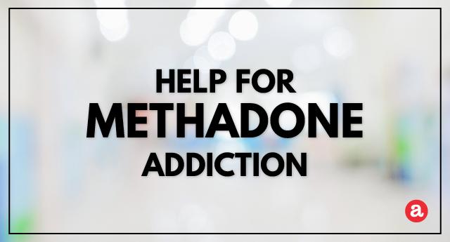 Help for methadone addiction