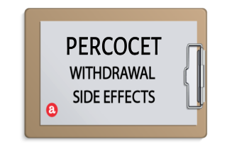 Percocet withdrawal side effects