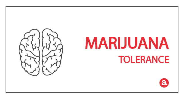 Tolerance to marijuana