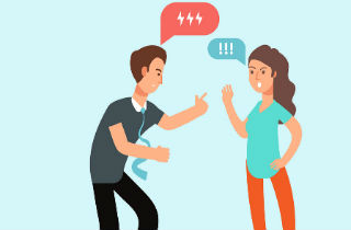 Co-addictive relationships: Get angry!