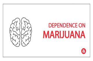 Dependence on marijuana