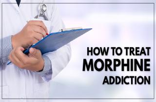 How to treat morphine addiction