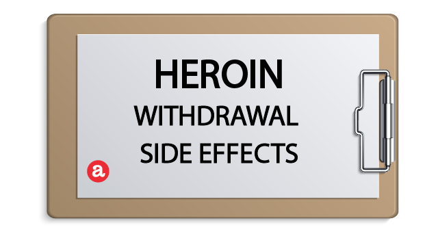 Heroin withdrawal side effects