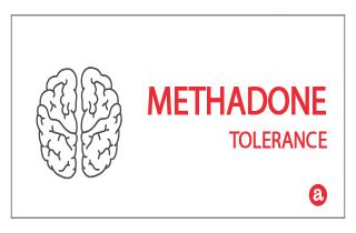 Tolerance to methadone