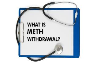What is meth withdrawal?