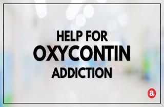 Help for OxyContin addiction