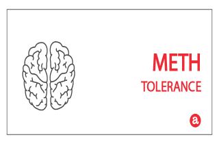 Tolerance to meth