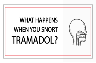 What happens when you snort tramadol?