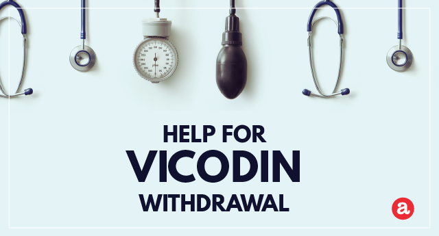 Help for Vicodin withdrawal