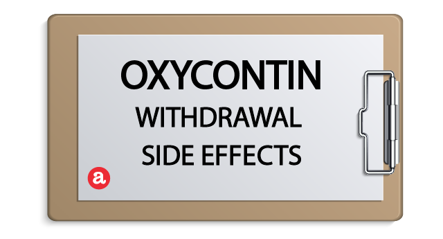 OxyContin withdrawal side effects