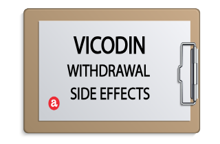 Vicodin withdrawal side effects