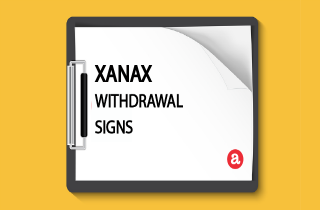 Xanax withdrawal signs