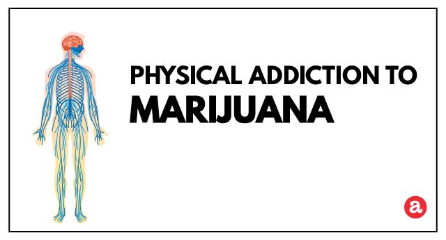 Physical addiction to marijuana